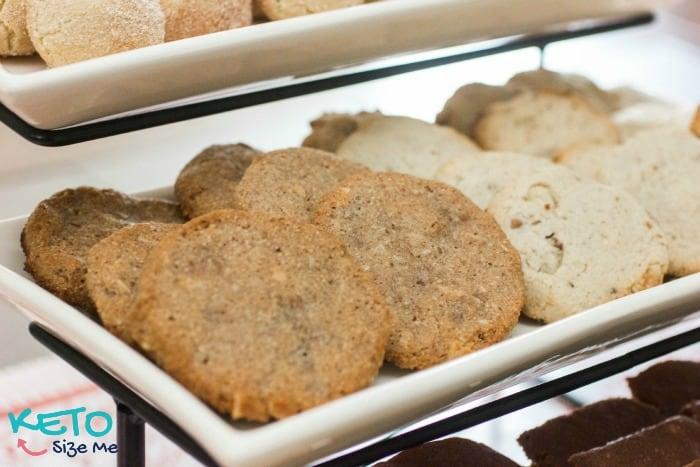 Easy Keto Coconut Pecan Cookies