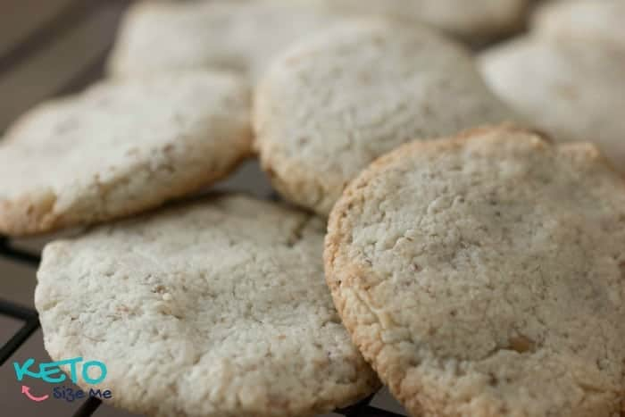 Delicious Keto Walnut Cookies are perfect for keto, low carb, and the atkins diet.