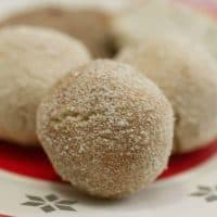 Keto Snickerdoodle Cookie Dough Balls