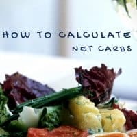 How to figure net carbs into your low carb or keto diet text