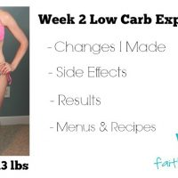 Keto Diet Week 2 Experience text with woman posing in a bikini
