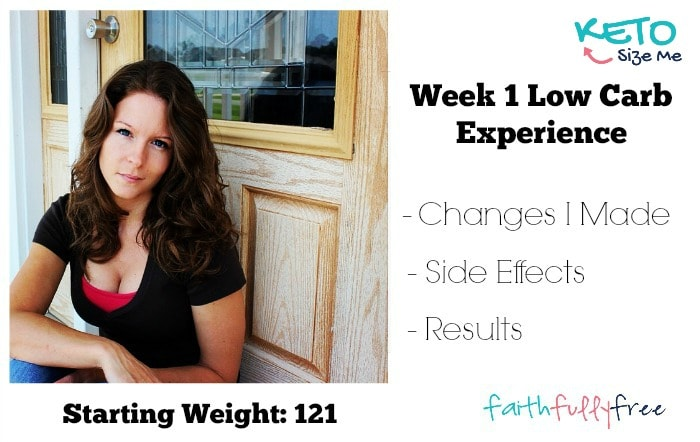 Read my Keto Diet Week 1 Experience. I share how I started my low carb lifestyle and how much weight I lost. In week one I went gluten-free and it was great
