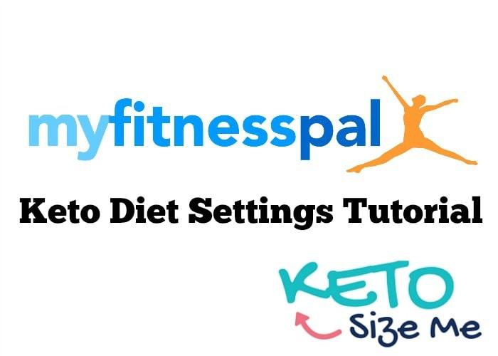 myfitnesspal keto settings tutorial text