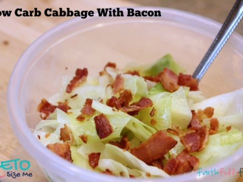 Keto Cabbage With Bacon