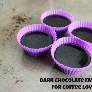 Dark Chocolate Coffee Fat Bomb