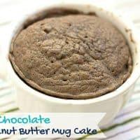 Delicious and Easy Keto Chocolate Peanut Butter Mug Cake Recipe