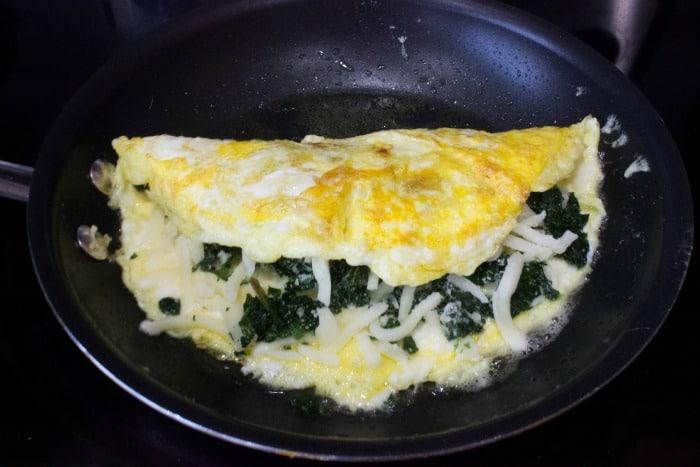 Keto Food diagram Omelette Recipe