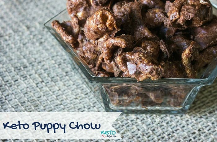 Keto Pork Rind Puppy Chow Recipe. 2 Net Carbs . Low Carb High Fat - Ketosis Snacks