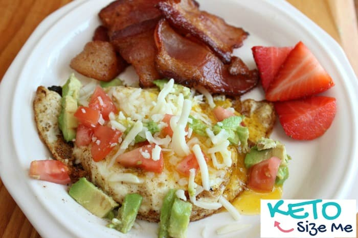 Looking for the perfect keto breakfast? This is my favorite ketogenic diet breakfast. It includes a little of everything and is sure to please your taste buds!