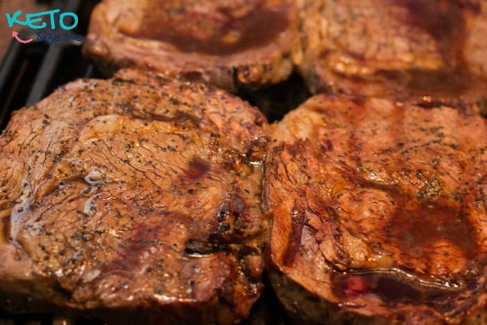 Learn how to grill the perfect steak! Marinate in soy sauce, cook on low temps, and don't cook to long. It's really that easy! Don't believe me? Come check out our post on How To Grill The Perfect Steak and we'll make you believers!