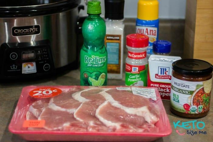 Keto Lime Pork Chops Crock Pot Recipe