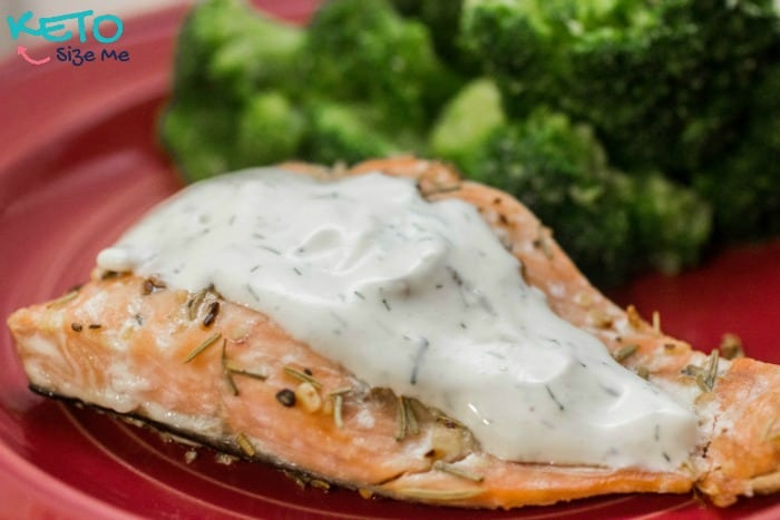 Delicious Keto Rosemary Dill Salmon Recipe. You've never tasted salmon like this before!