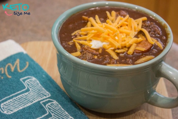 Keto Chocolate Chili Recipe • Keto Size Me
