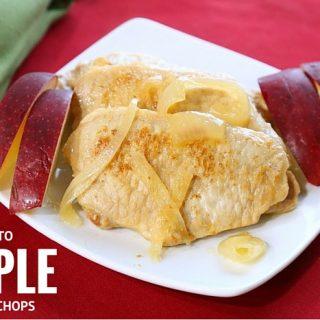 Keto Apple Pork Chops