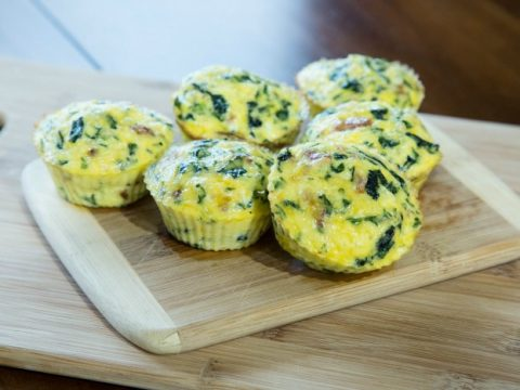 Bacon and Egg Florentine Muffins