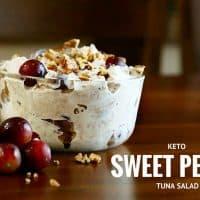 Keto Sweet Pecan Tuna Salad