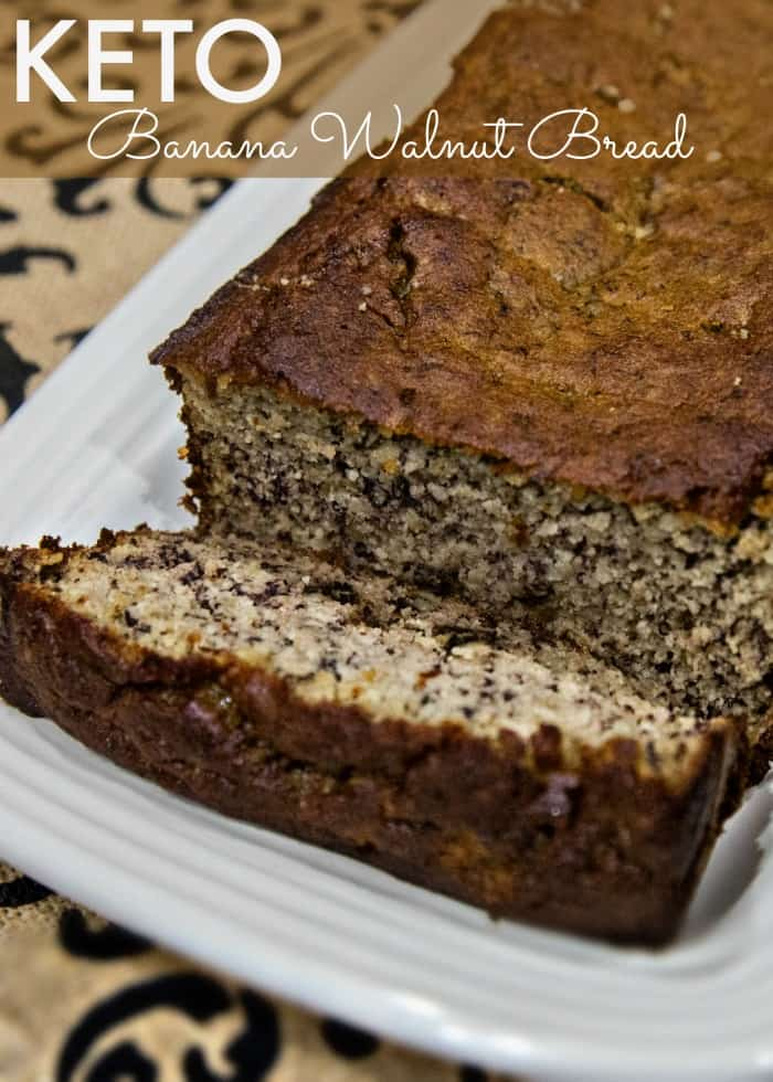 Keto Banana Walnut Bread - Great for kids! • Keto Size Me