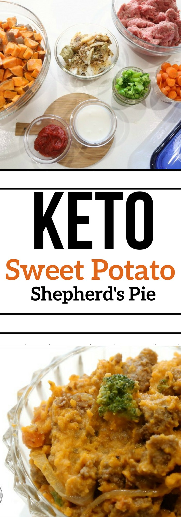 Keto Low Carb High Fat Baked Shepherd's Pie Recipe