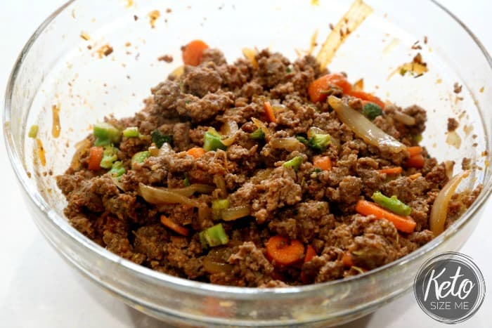 Keto Shepherd's Pie Meat Mixture