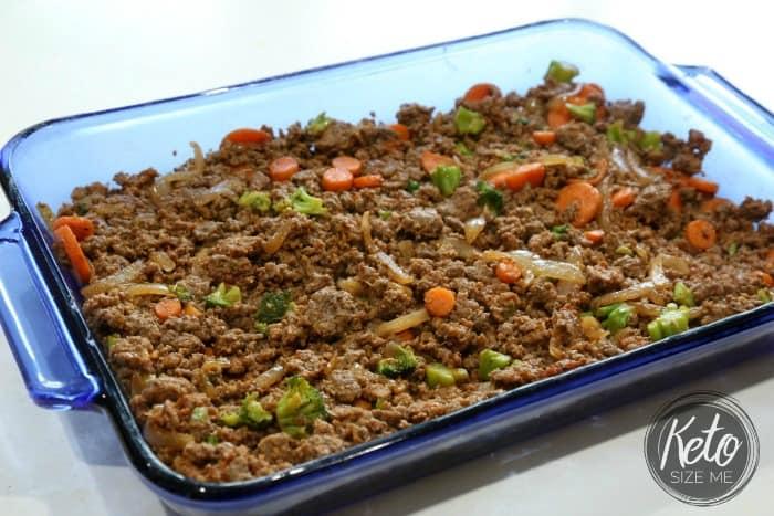 Keto Shepherd's Pie Ready To Bake