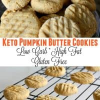 keto pumpkin butter cookies