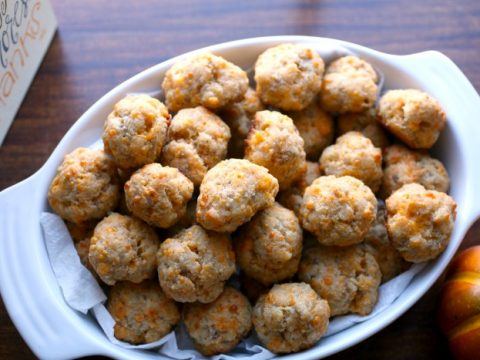 Keto Coconut Flour Sausage Balls Recipe Atkins Friendly
