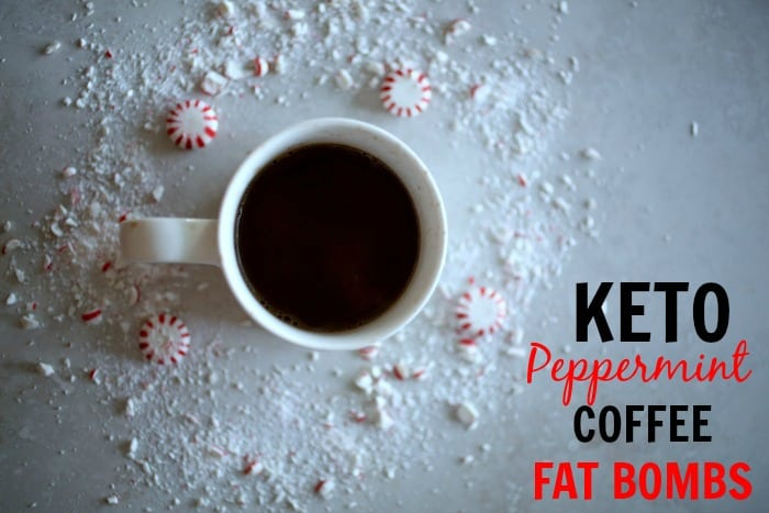 Keto Peppermint Coffee Fat Bombs Recipe. Fat bomb with ghee, coconut oil, peppermint, and stevia. This fat bomb recipe is made for the keto diet. This is perfect for coffee lovers. | ketosizeme.com