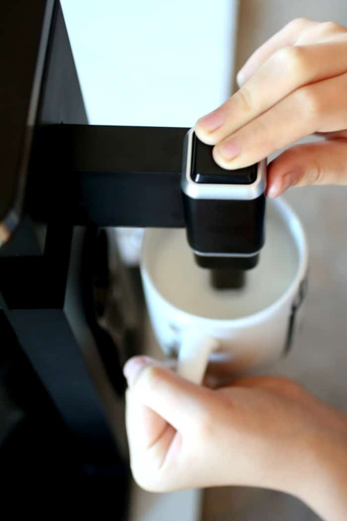 The Ninja Coffee Bar® System - Hot and cold frother.