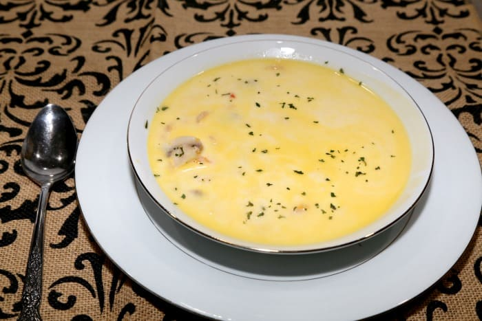Keto Cheesy Shrimp Soup Ingredients