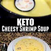 Keto Cheesy Shrimp Soup Recipe