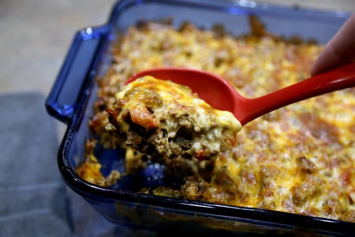 Keto Taco Casserole Recipe Ingredients - Atkins, Paleo, Keto, Clean, Lose Weight 21 Day Fix
