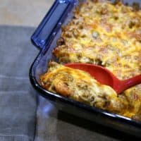 Keto Cheesy Taco Casserole Recipe LCHF
