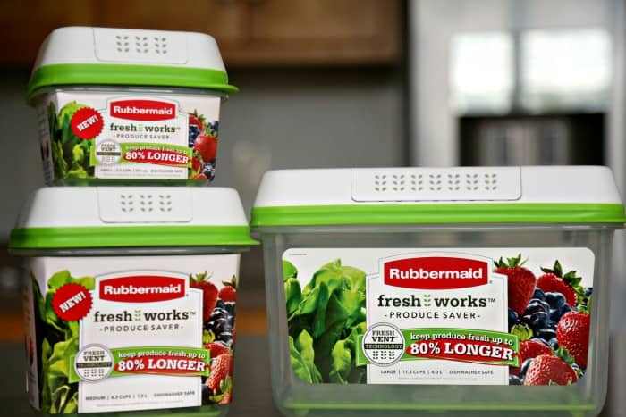 Rubbermaid FreshWorks Produce Saver Test - Do these really work? Check out our post to see.