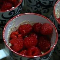 Keto Raspberry Ricotta Breakfast Cake