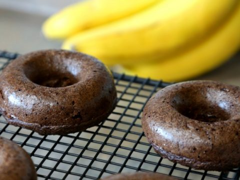 Delicious Keto Coconut Mocha Donuts Gluten Free and made from coconut flour