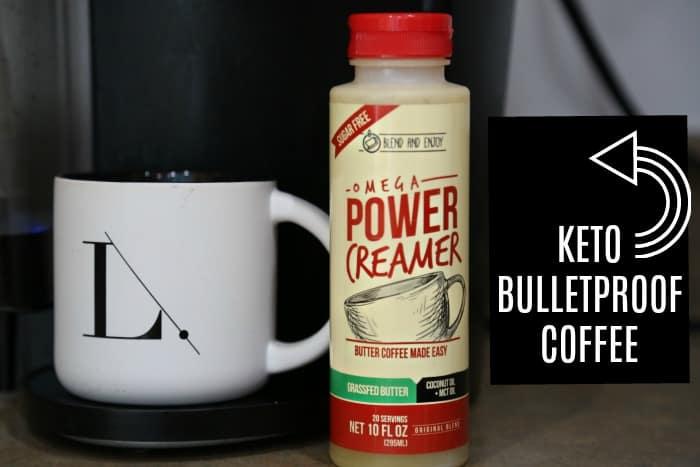 Keto Bulletproof Coffee Fast & Easy