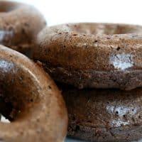 Keto Coconut Mocha Donuts