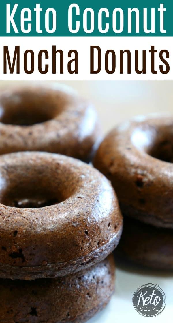 Keto Coconut Mocha Donuts Recipe LCHF