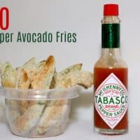 Keto Pepper Avocado Fries Pinterest