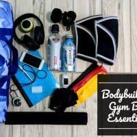 Bodybuilding Gym Bag Essentials What's In My Gym Bag
