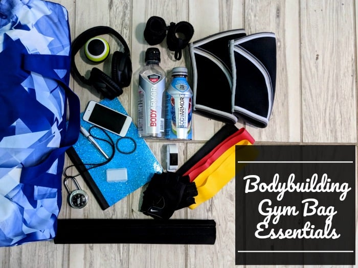 Bodybuilding Gym Bag Essentials What's In My Gym Bag
