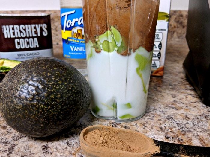 Keto Avocado Chocolate Pudding Recipe