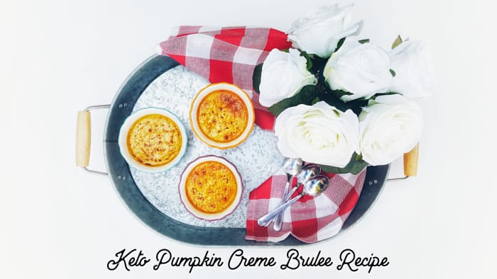 Keto Pumpkin Creme Brulee Recipe Keto Size Me