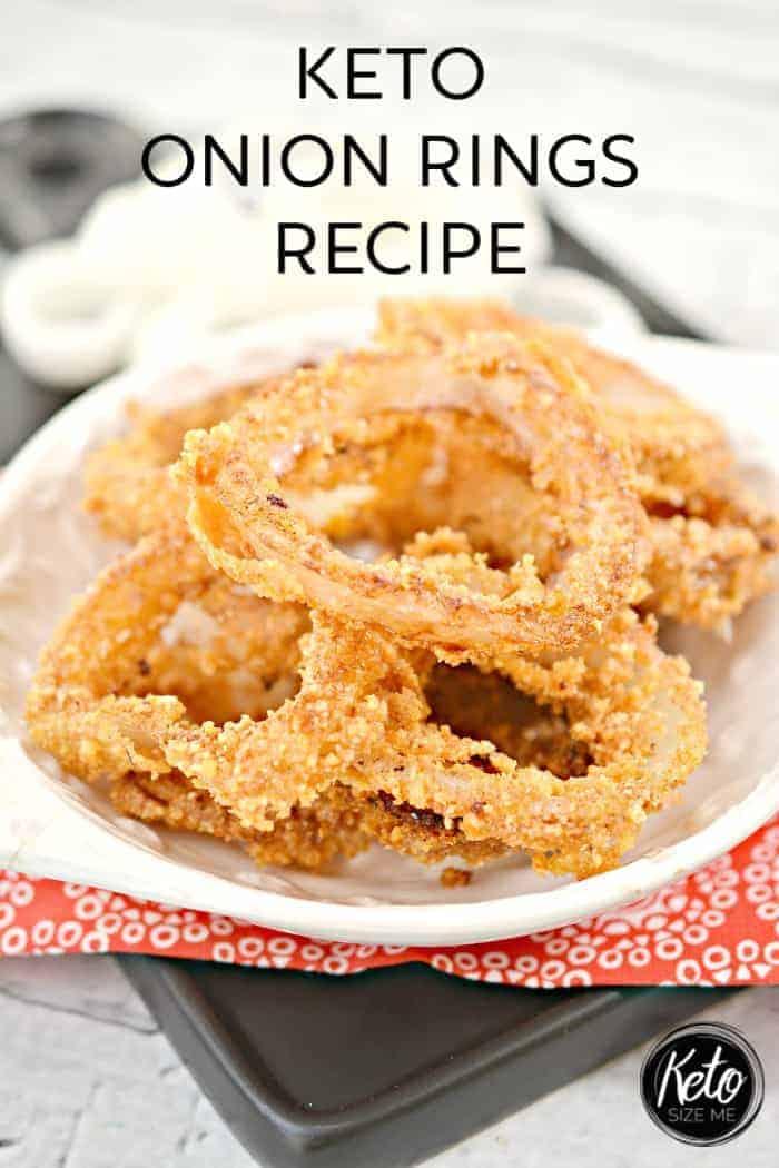 Keto Onion Rings Recipe