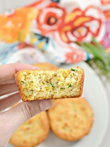 easy keto garlic and herb biscuit recipe