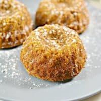 Keto Pumpkin Spice Mini Bundt Cakes