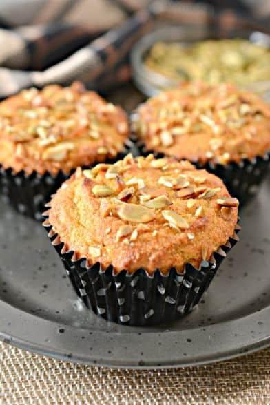 Keto Pumpkin Spice Muffins