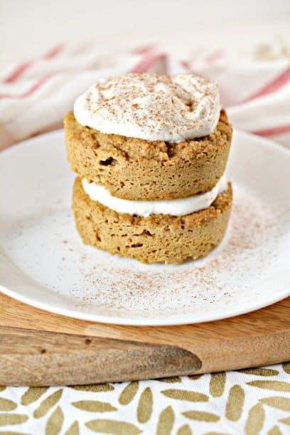 Keto Pumpkin Spice Mug Cake