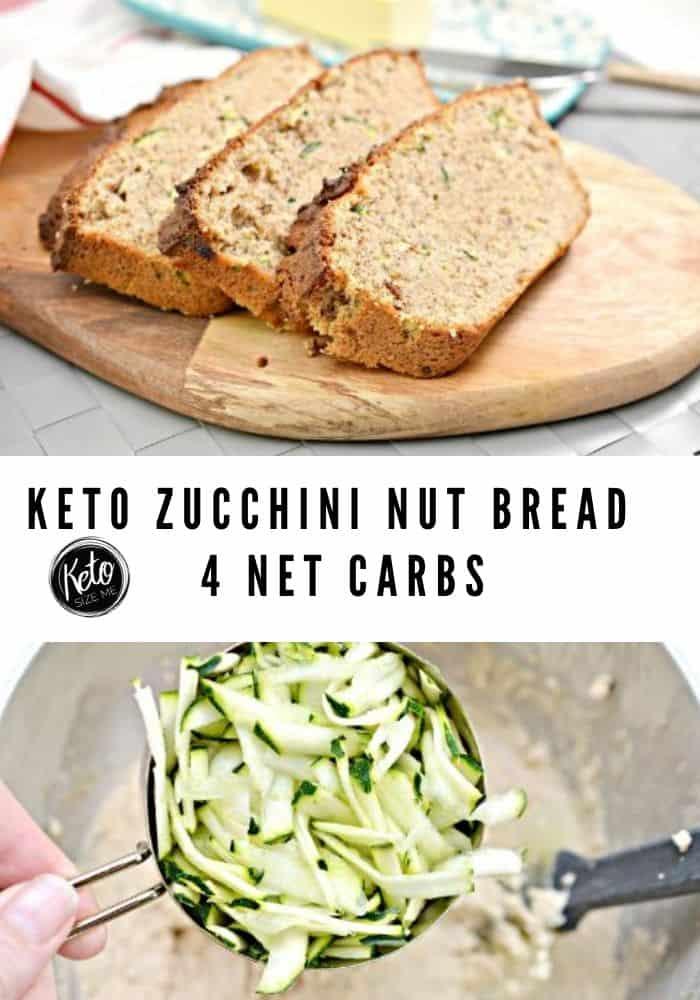 Keto Zucchini Nut Bread