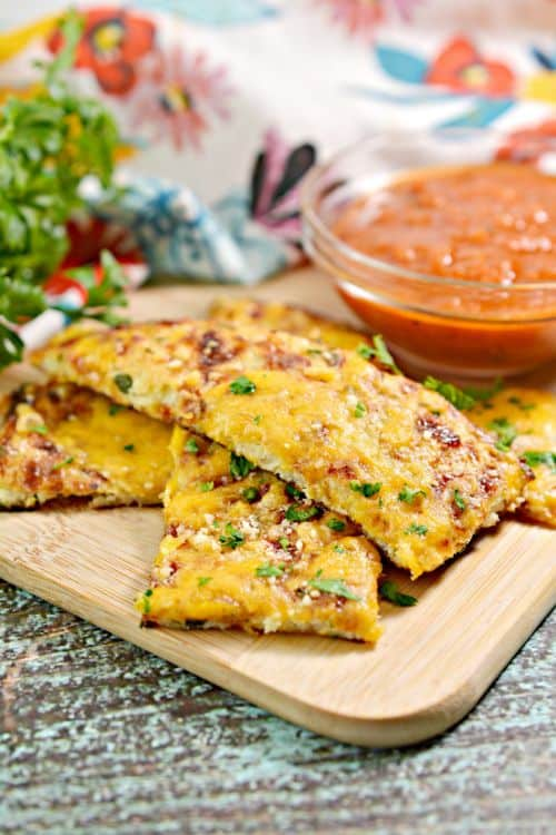 Keto Cheesy Garlic Bread: Cauliflower Bread Recipe